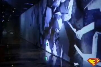 玉溪走廊墙面3D互动投影科技视频
