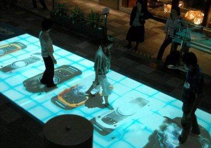 商场地面互动投影有什么好处?