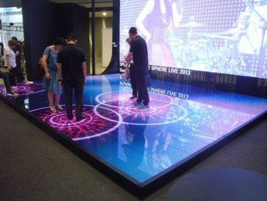地面互动投影定制需要什么设备