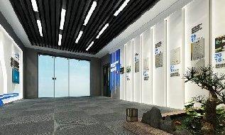 设备企业展厅展览展示设计