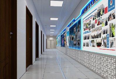 苏州公安局指挥中心展示设计效果图