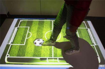 交互式地面投影游戏的优势及显示效果
