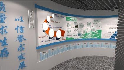 化工业企业展厅设计方案