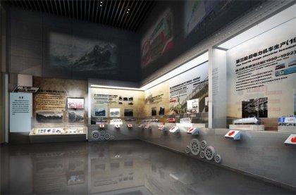 机车机械企业展馆设计方案