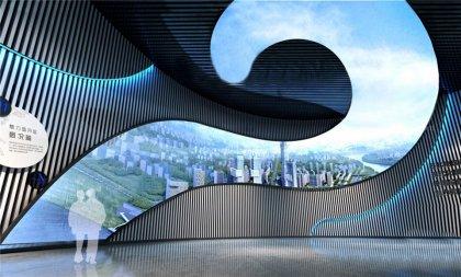 魅力企业规划馆展览设计方案