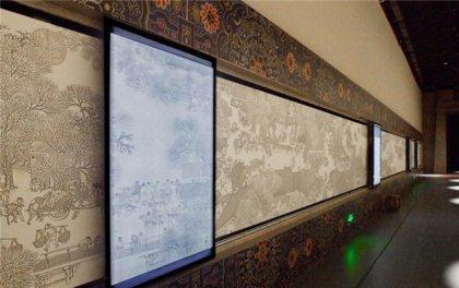 阜阳展厅互动滑轨显示屏