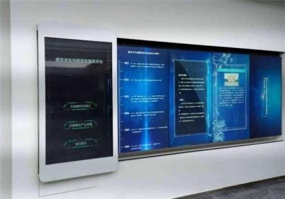 扬州展厅互动滑轨显示屏