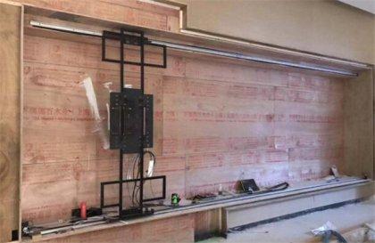 上海展厅互动滑轨显示屏