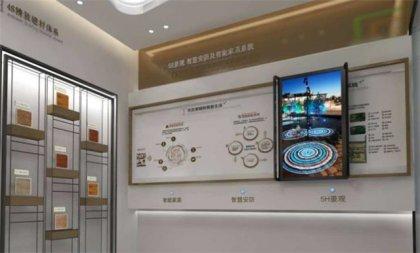 杭州展厅互动滑轨显示屏