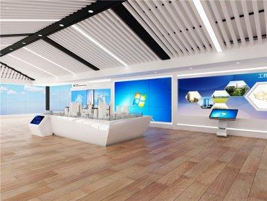 杭州科技企业展厅设计方案