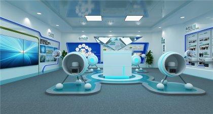 江苏企业多媒体展厅设计