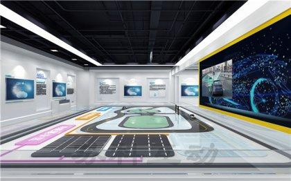 临海多媒体展厅展览设计装修