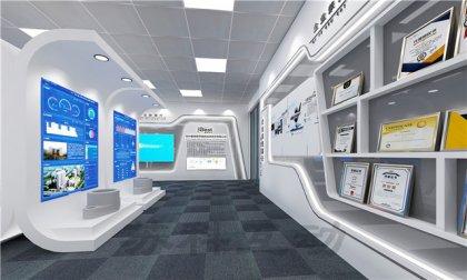 盐城企业展厅装修设计