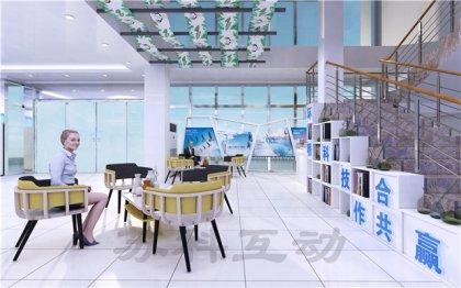 丹阳多媒体企业展厅展示设计