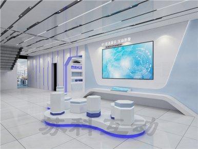 苏州公司展厅装修效果图