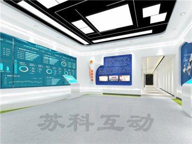 慈溪企业展厅设计装修