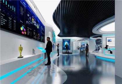 宣城企业展厅设计装修