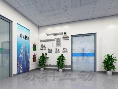 苏州多媒体企业展厅展示设计
