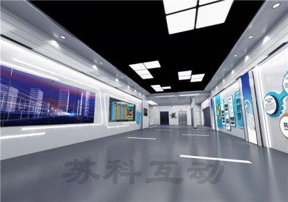 衢州多媒体企业展厅展示设计