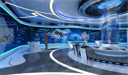 池州公司数字化展馆展厅设计
