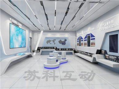 无锡公司数字化展馆展厅设计