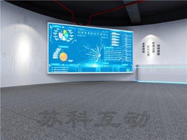 太仓公司数字化展馆展厅设计