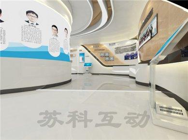 靖江企业展厅装修设计