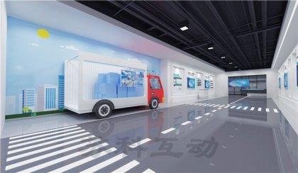 邳州多媒体企业展厅展示设计