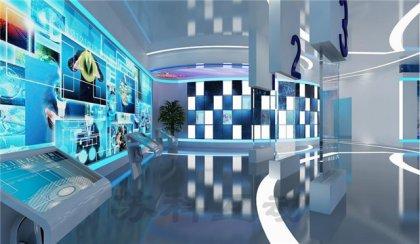 南通公司数字化展馆展厅设计