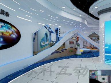 盐城公司数字化展馆展厅设计