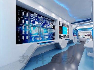 衢州企业展厅装修设计