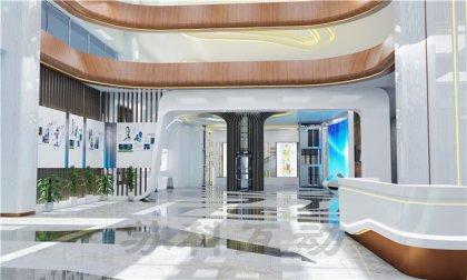 海安企业展厅设计装修