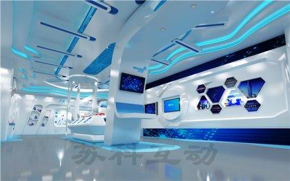 宜兴数字展厅设计施工