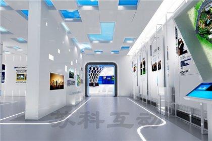 潜山多媒体企业展厅展示设计