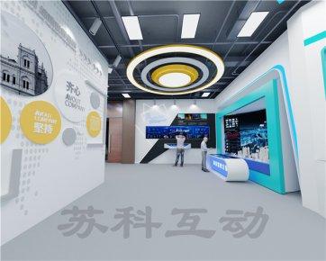 台州企业展厅装修设计