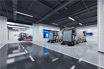 泰兴公司数字化展馆展厅设计