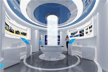舟山企业展厅装修设计
