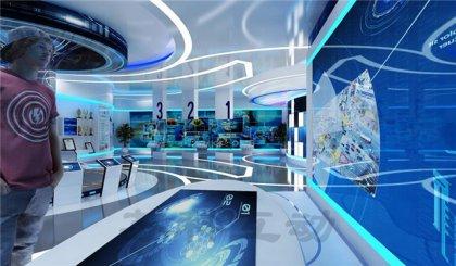 淮安多媒体企业展厅展示设计