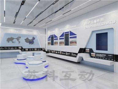 六安公司展厅装修效果图
