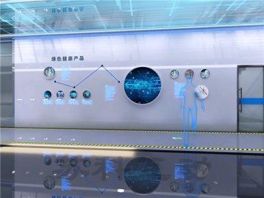 淮北企业展厅设计装修