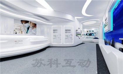 淮安公司数字化展馆展厅设计