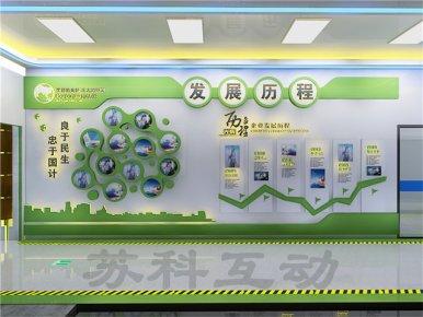 丹阳企业展馆展厅设计制作