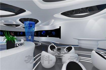 扬中多媒体企业展厅展示设计