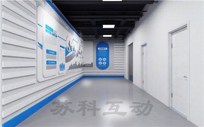 潜山多媒体展厅展览设计装修