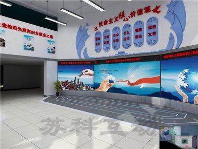 宿州多媒体展厅展览设计装修