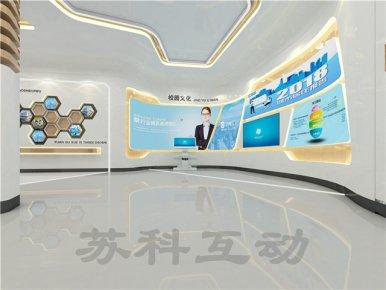 瑞安企业展馆展厅设计制作