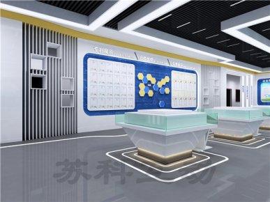 如皋企业展馆展厅设计制作