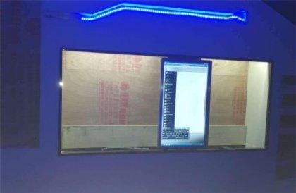 西安电动滑轨led显示屏