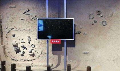 银川展厅感应滑轨屏幕