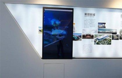 福州互动透明滑轨屏